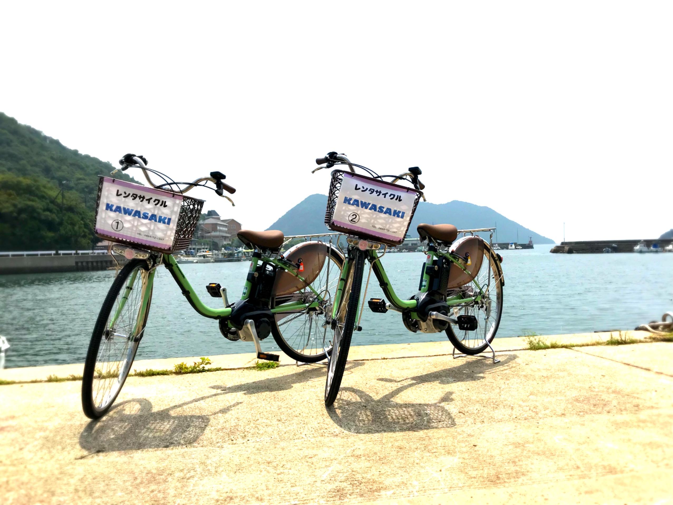 レンタサイクル一般電動アシスト自転車